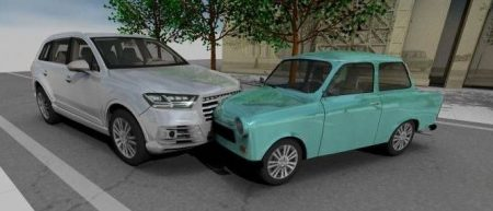 A balesetelemzés segít tisztázni a közlekedési beleset lefolyását is.